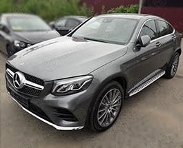 Пороги Mercedes GLC Coupe C253